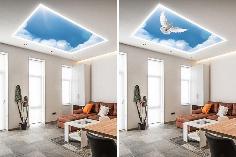 არის გასაჭიმი ჭერი Double Vision, Master Ceiling